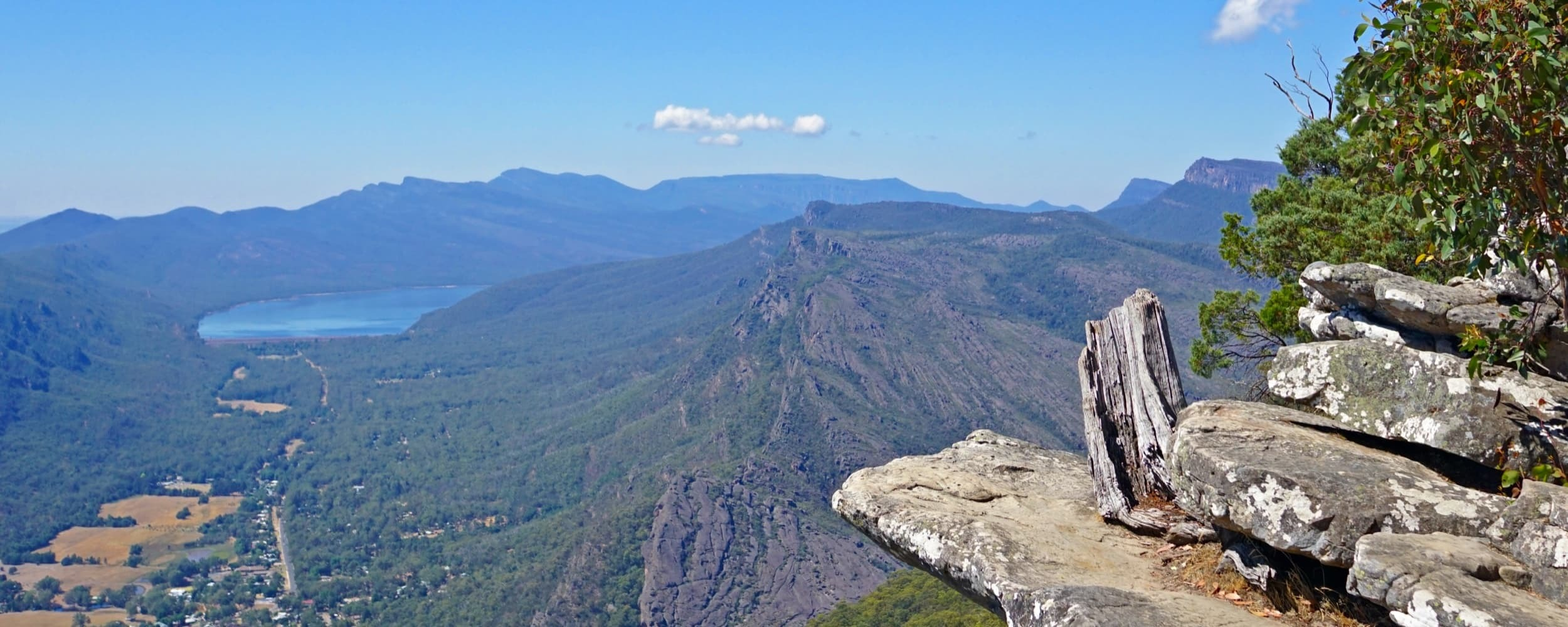 Venture into the rugged mountain ranges of the Grampians with the Trooper